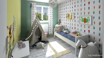 ห้องนอนเด็ก by MJ Intérieurs
