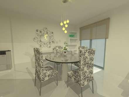Propuesta2: Comedores de estilo minimalista por ER Design