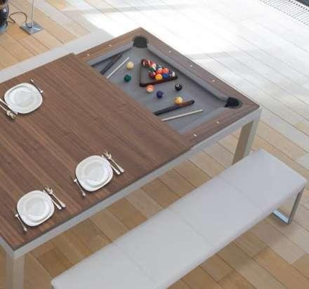 Fusion: Salle à manger de style de style Moderne par Fusion Tables