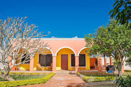 บ้านและที่อยู่อาศัย by PORTO Arquitectura + Diseño de Interiores