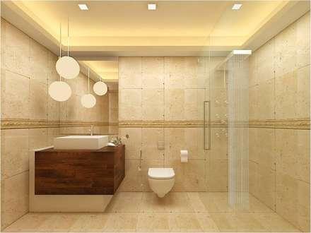 MANTRI ESPANA, BANGALORE. (www.depanache.in): classic Bathroom by Depanache Interior Architects