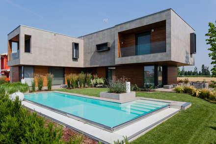 Case moderne idee ispirazioni homify for Casa moderna progetti
