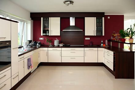Cocina 2: Cocinas de estilo moderno por FEDGO