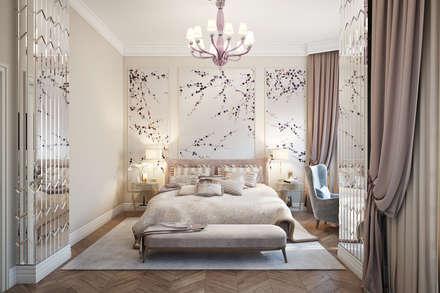 Кашино: Спальни в . Автор – Александра Клямурис
