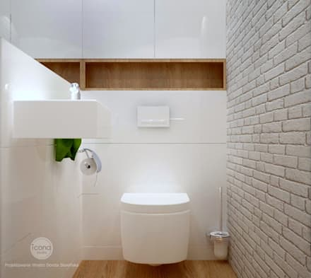 minimalistic Bathroom by Icona studio