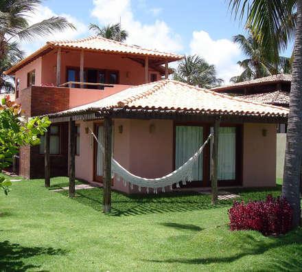 Condomínio Residencial Braaten: Casas modernas por bp arquitetura