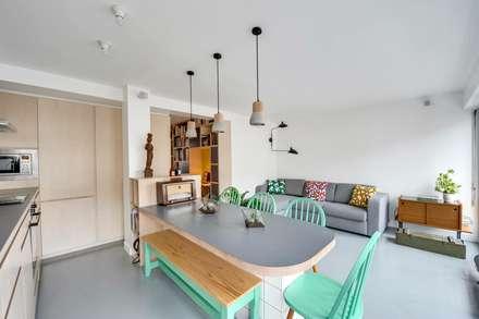 scandinavian Dining room by blackStones