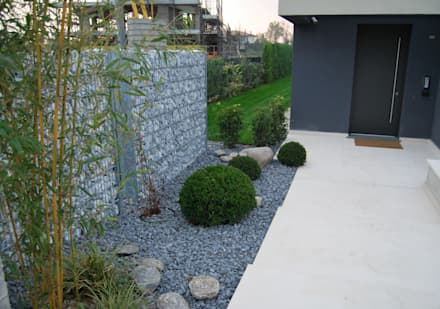 Giardino idee immagini e decorazione homify for Foto giardini moderni