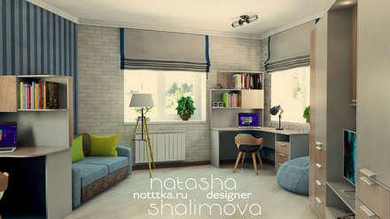 Детская для двоих мальчиков: industrial Nursery/kid's room by Grand Style