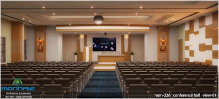Conference Hall:  Conference Centres by Premdas Krishna