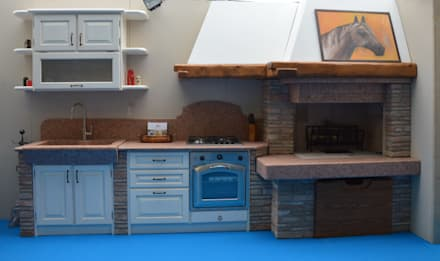 Emejing Cucina Rustica Economica Photos - Ameripest.us - ameripest.us