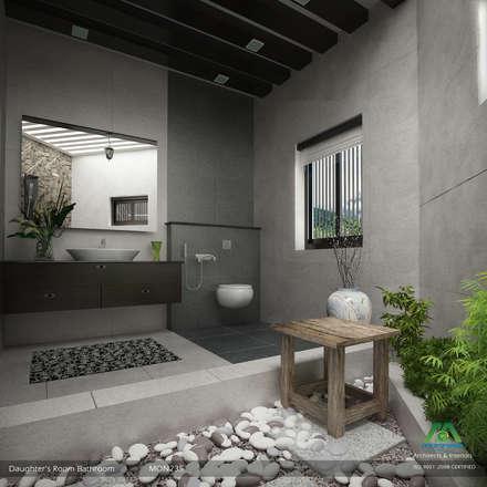 modern bathroom by premdas krishna