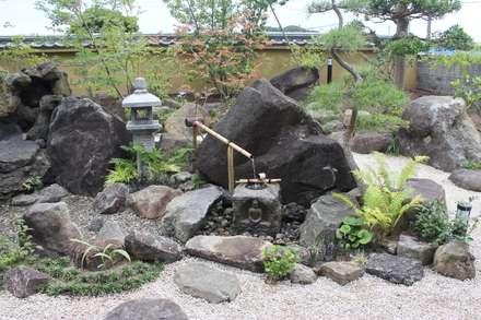 作品: (株)大平造園土木が手掛けた庭です。