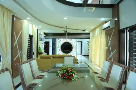 Ultra Modern Interior Design: modern Dining room by Premdas Krishna