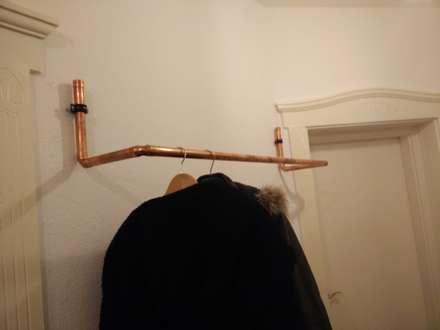 Kupfer Rohr Garderobe:  Flur & Diele von Cocktailtumblers