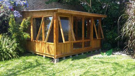 بيت زجاجي تنفيذ Mundo Garden