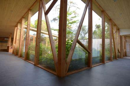 Jardines de estilo moderno por Vientos Arquitectura