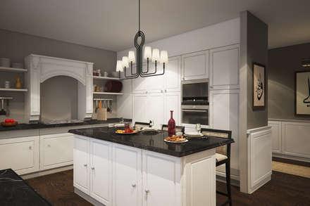 landhausstil k chen ideen design und bilder homify. Black Bedroom Furniture Sets. Home Design Ideas
