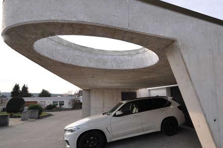 Carport: moderne Garage & Schuppen von Pakula & Fischer Architekten