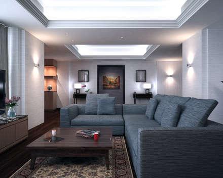 Discovery Primea | Manila: modern Living room by Nelson W Design