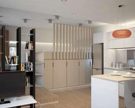 Vantage Park | mid-level | Hong Kong: modern Bedroom by Nelson W Design