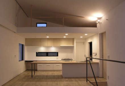 三鷹の家: 荘司建築設計室が手掛けたキッチンです。
