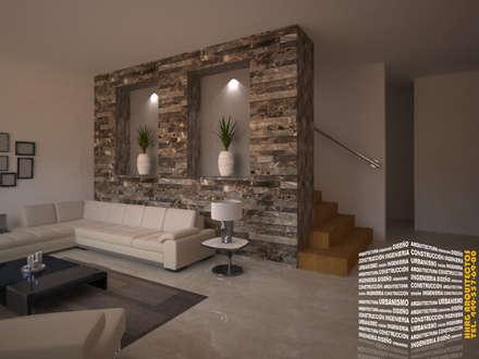 classic Corridor, hallway & stairs by HHRG ARQUITECTOS