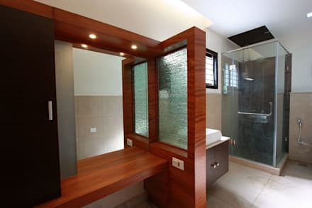 modern Dressing room by Ansari Architects