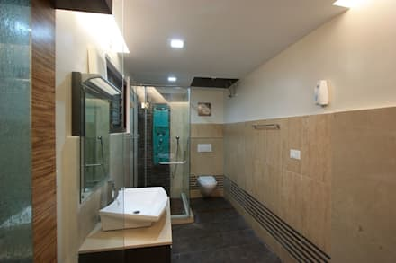Toilet: modern Bathroom by Ansari Architects