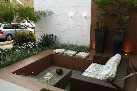 Residência Cruz: Terraços  por Arquitetura Ao Cubo LTDA