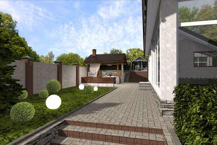 industrial Garden by Студия архитектуры и дизайна Вояджи Дарьи