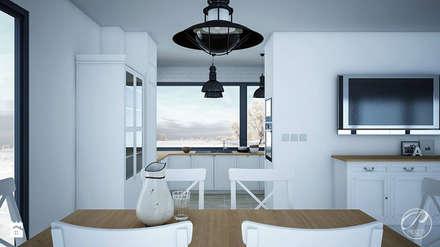 Yates y jets de estilo escandinavo por Progetti Architektura