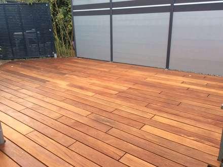 Cumaru Terrassendielen 21 x 120 mm glatt FSC:  Terrasse von Kahrs GmbH