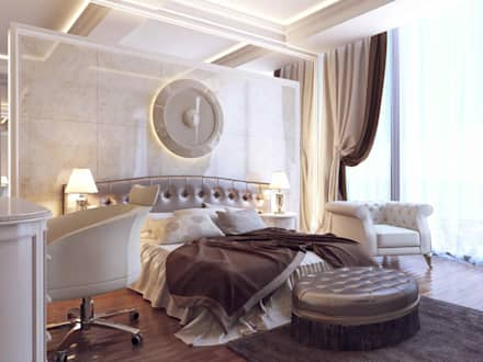 RayKonsept - Konut Projeleri: modern tarz Yatak Odası
