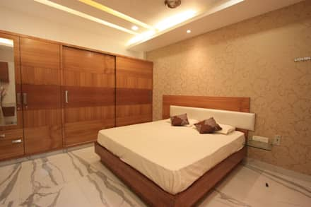 bedroom modern bedroom by ansari architects - Bedrooms Interior Designs 2