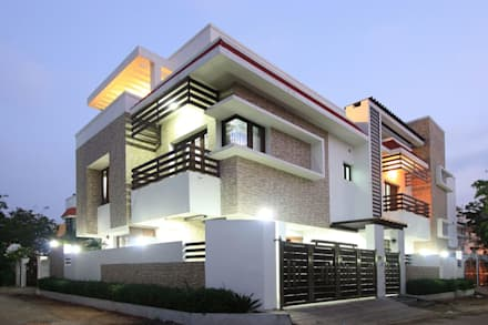 exterior modern houses by ansari architects - House Design Ideas