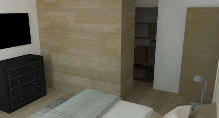 Appartement Rémois: Chambre de style de style Scandinave par ARCHI DEKO