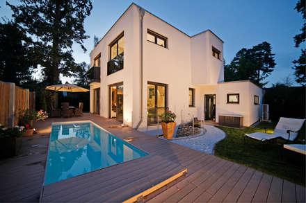 Architektenvilla Im Wurmtal Moderne Hauser Von Gerhard Blank Fotografie Fur Immobilien Architektur