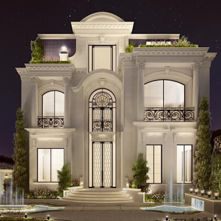 Interior Design & Architecture  by IONS DESIGN Dubai,UAE: classic Houses by IONS DESIGN