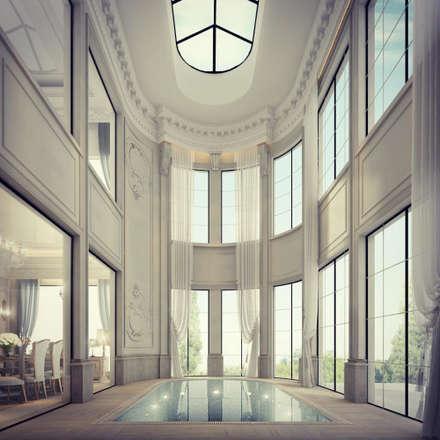 Interior Design & Architecture  by IONS DESIGN Dubai,UAE: classic Pool by IONS DESIGN