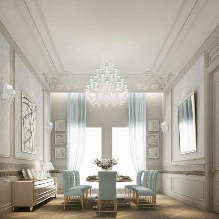 Interior Design & Architecture  by IONS DESIGN Dubai,UAE: classic Dining room by IONS DESIGN