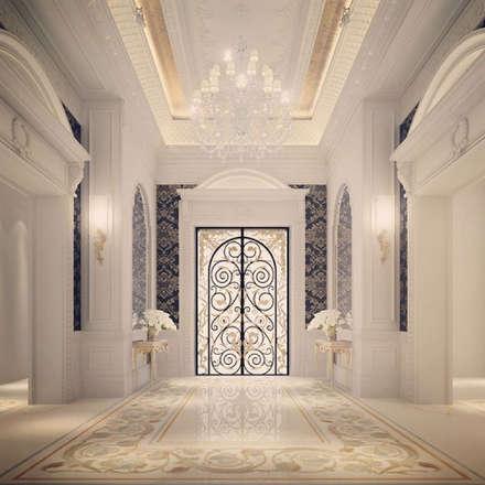 Interior Design & Architecture  by IONS DESIGN Dubai,UAE:  Corridor & hallway by IONS DESIGN