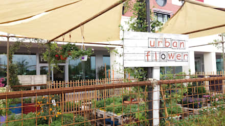 orto urbano: Centri commerciali in stile  di URBAN FLOWER