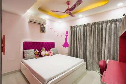 Kids room : minimalistic Nursery/kid's room by IMAGIC INTERIORS