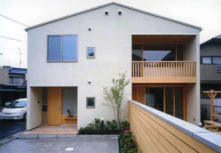 静岡の家 case003: 岩川卓也アトリエが手掛けた家です。