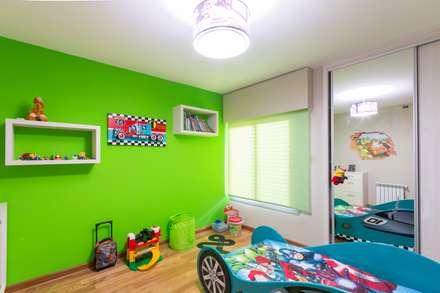 casa mj dormitorios infantiles de estilo moderno por karlen clemente arquitectos