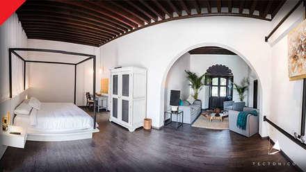 colonial Bedroom by Tectónico