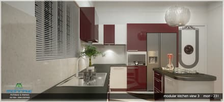 Arabian Style in Interiors: asian Kitchen by Monnaie Developers