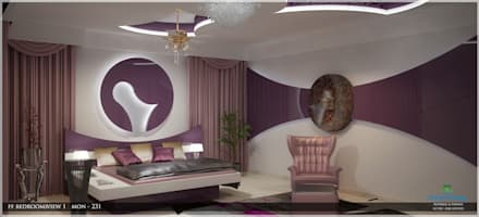 Arabian Style in Interiors: asian Bedroom by Monnaie Architects & Interiors