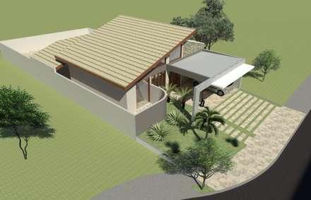 Residência PHP: Casas modernas por Hamilton Turola Arquitetura e Design